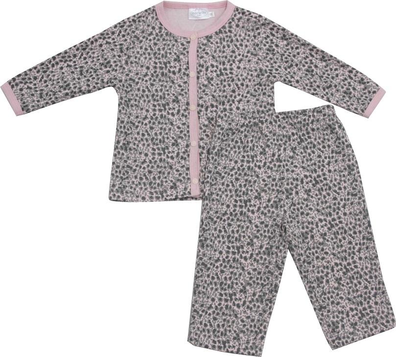 62.192EX - Conjunto Pijama c/ Silk Onça