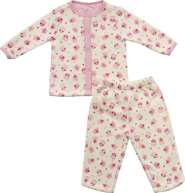 62.208 - Conjunto Pijama com Silk Corujinha