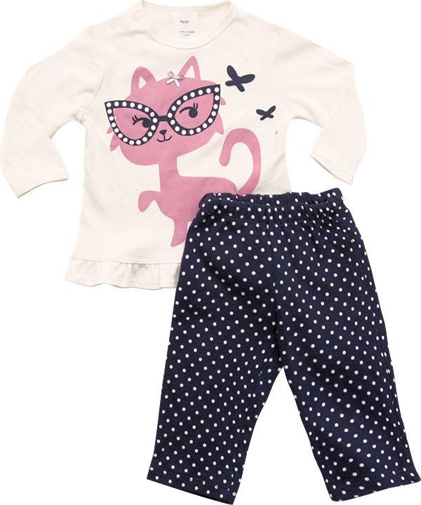 62.209 - Conjunto Pijama com Silk Gatinha