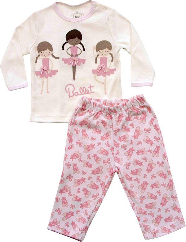 62.211 - Conjunto Pijama com Silk Bailarinas