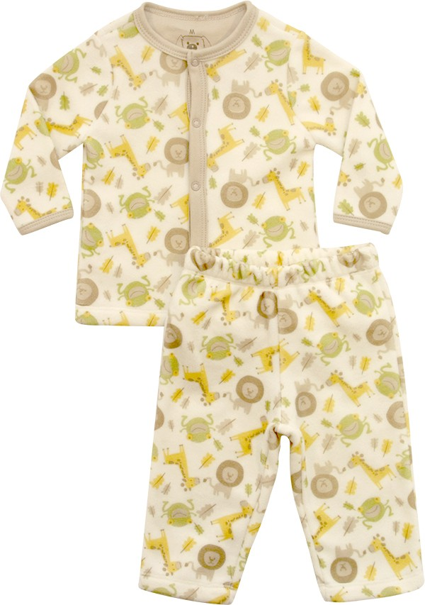 62.214 - Conjunto Pijama com Silk Animais