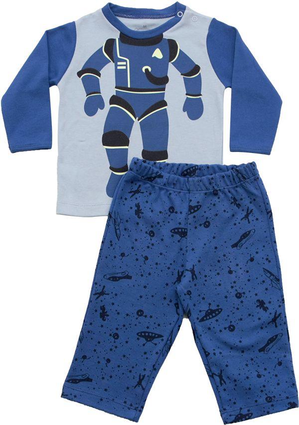 62.216 - Conjunto Pijama Silk com Astronauta
