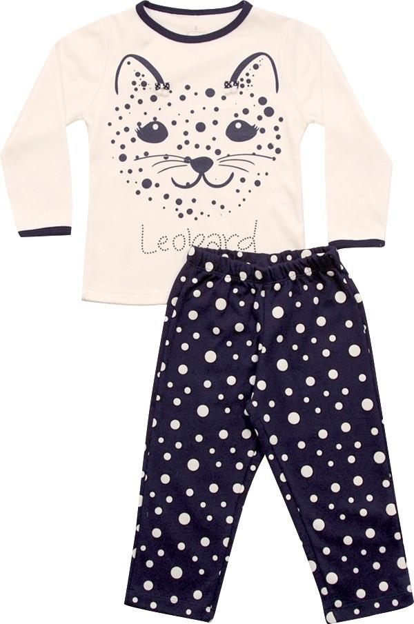 62.220 - Conjunto Pijama Silk Leopardo