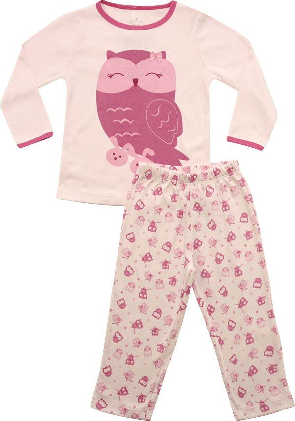 62.221 - Conjunto Pijama Silk Coruja