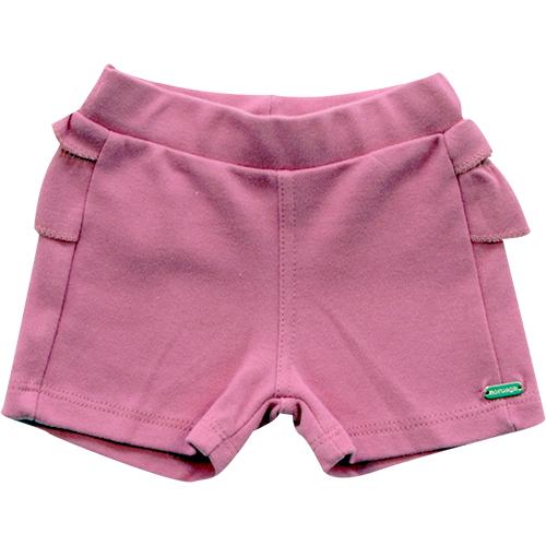 70.231-Shorts Avulso Babados