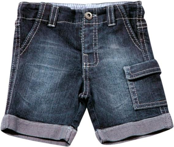 70.197 - Bermuda Básica Jeans