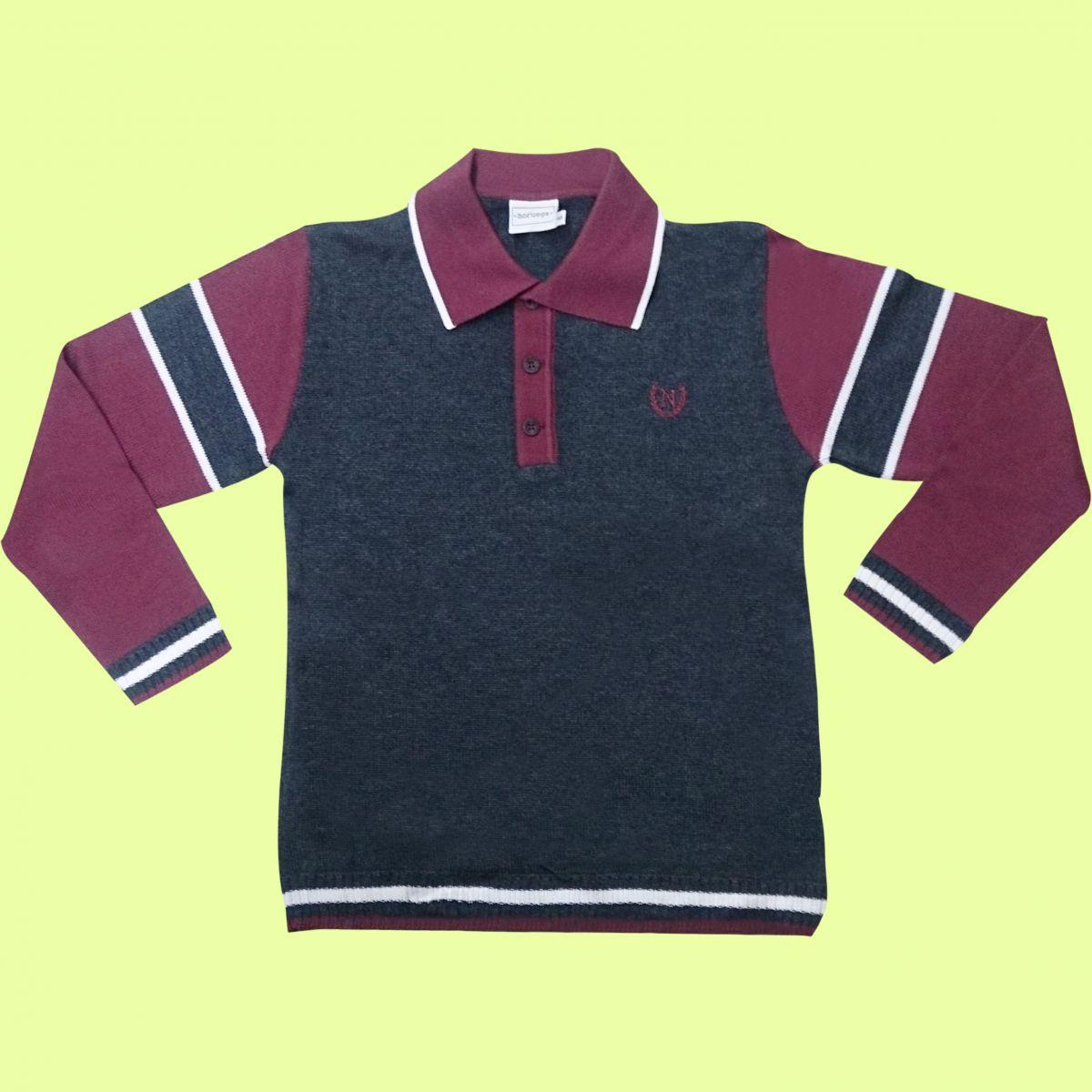 Camisa Polo com Listras  - Loja Noruega
