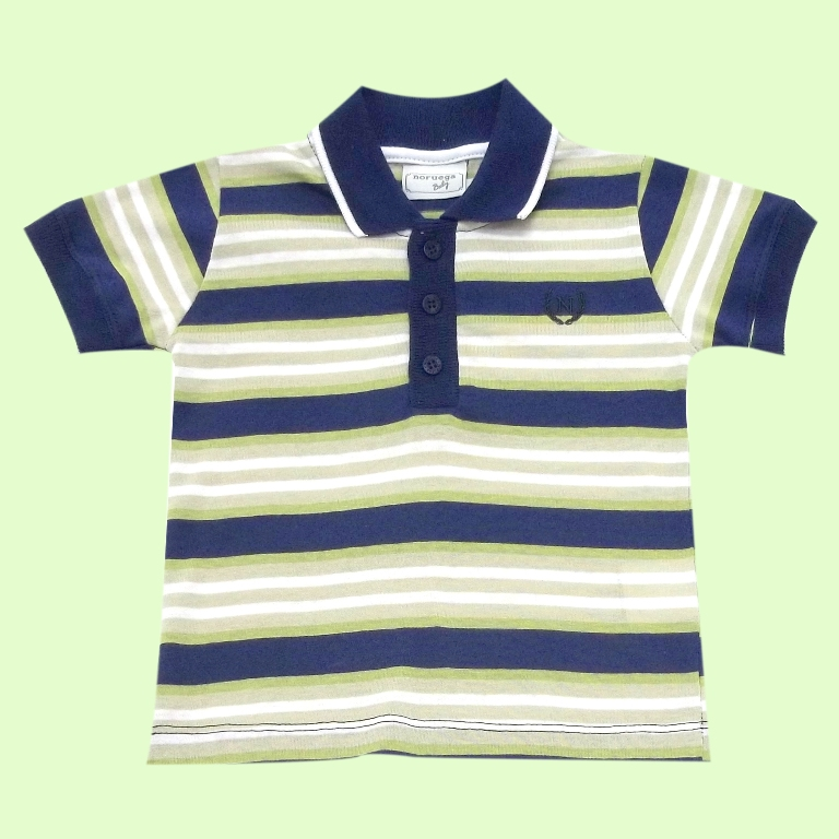 Camisa Polo Fio Tinto