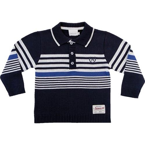 81.188 - Camisa Polo c/ Listras Localizadas