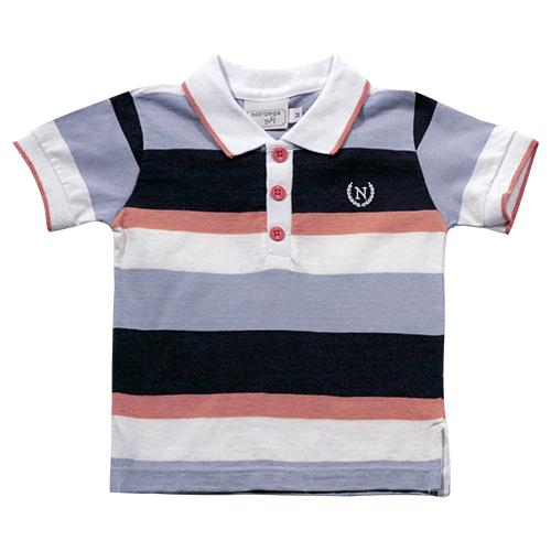 81.194 - Camisa Polo Listras Largas
