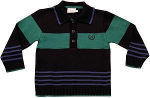81.166 - Camisa Polo com Listras
