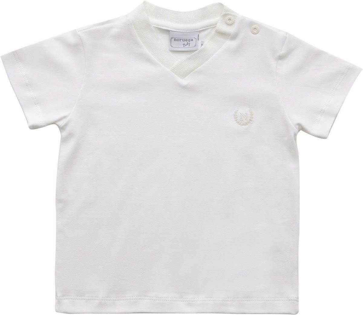 81.201 - Camisa Polo Gola V Bordado