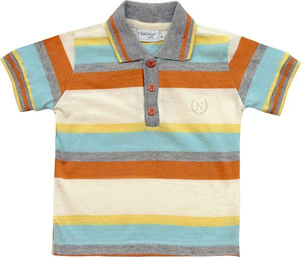 81.218 - Camisa Polo Listras Coloridas