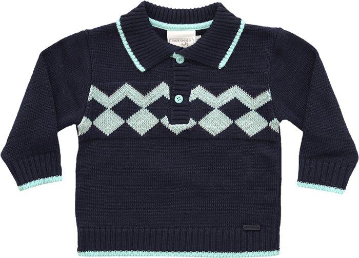 81.230 - Polo Tricot Losangos