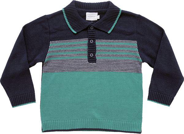 81.232 - Polo Tricot Mesclado