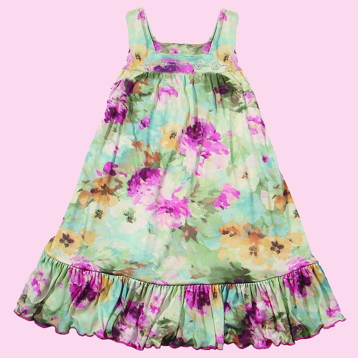 Vestido Floral Multicolorido  - Loja Noruega