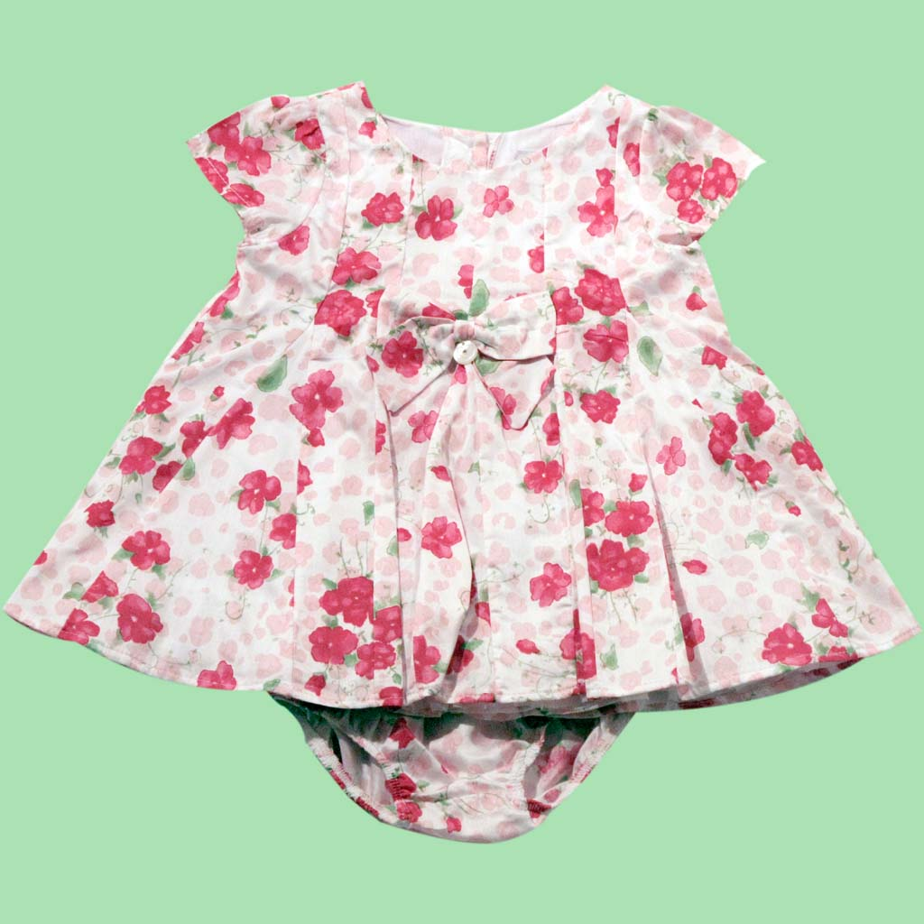 90.142 - Vestido Floral Nesgas