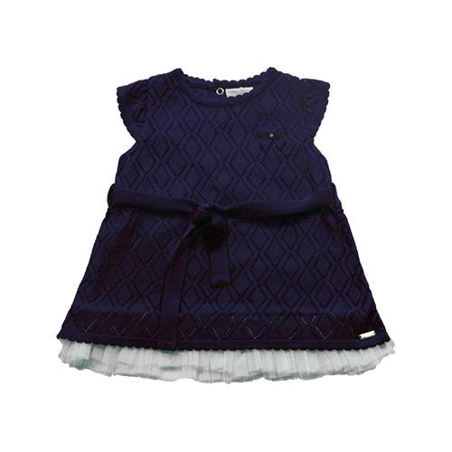 90.190 - Vestido Ponto Losangos