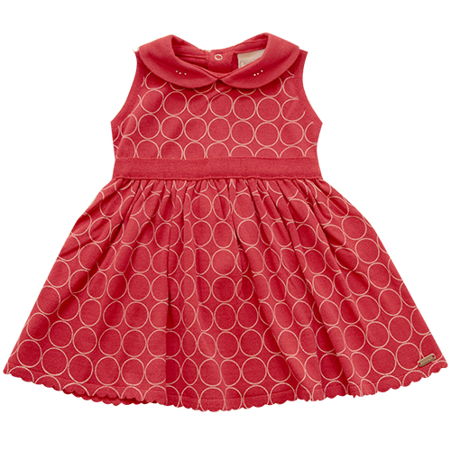 90.192 - Vestido Estampa Circulos