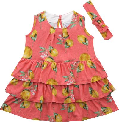 90.332 - Vestido c/ Silk Limão