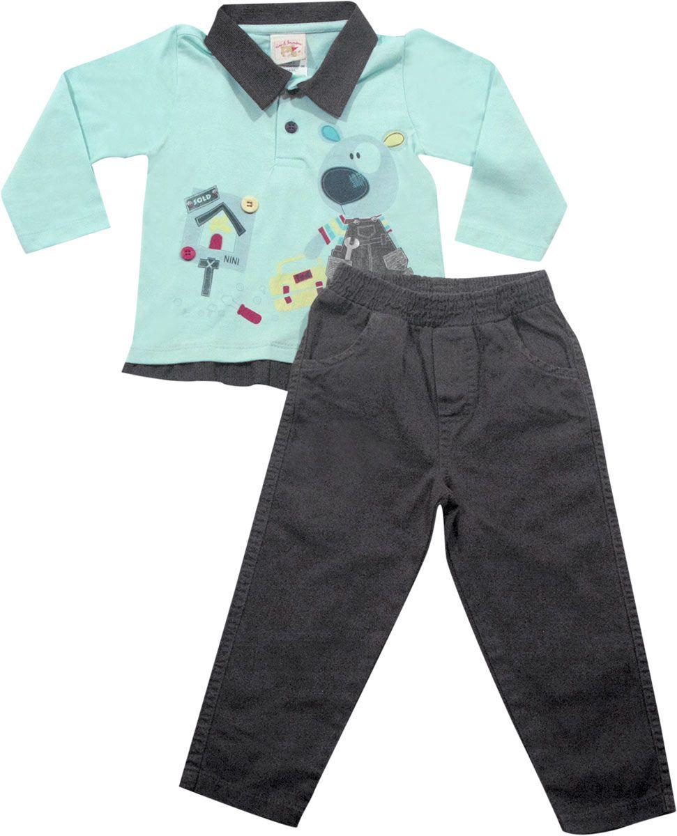 N21.011 - Conjunto Urso Mecanico - Nini & Bambini