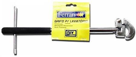 Grifo Para Lavatório Ferrari GL  - GENSETEC GERADORES