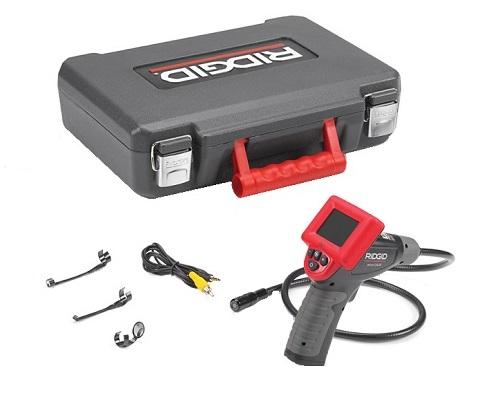 Micro Câmera de Inspeção Ridgid CA25  - GENSETEC GERADORES