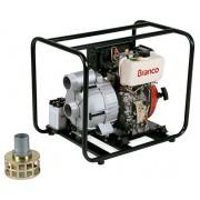 Motobomba a Diesel Branco BD704SPE Agua Suja 3 Polegadas - Partida Elétrica