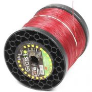 Bobina de Fio de Nylon Para Roçadeira 2mm Redondo 2KG