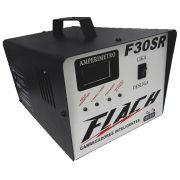 Carregador de Bateria Automático 12V  24V Flach F30 SR
