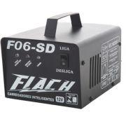 Carregador de Bateria Automático 12V Flach F06-SD