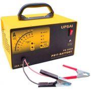 Carregador de Baterias Automático 12 e 24 Volts Upsai PB 2024 Auxiliar de Partida