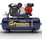 Compressor de Ar a Diesel Pressure 20 Pes 200 Litros 175 Libras
