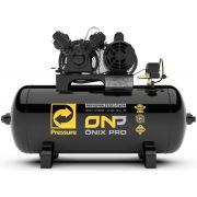 Compressor de Ar Pressure 10Pés Onix Pro 100 Litros 140 Libras Monofásico