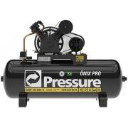 Compressor de Ar Pressure 20 Pés Onix Pro 200 Litros 175 Libras Trifásico
