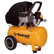 Compressor de Ar Tekna CP8525 24 Litros 110V c/ Kit
