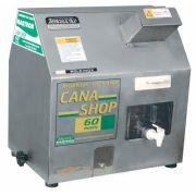 Moenda de Cana Maqtron Cana Shop 60 Hobby Rolo de Inox com Motor 110V
