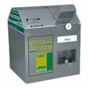 Moenda de Cana Maqtron Cana Shop 140 Rolo de Inox com Motor 110V