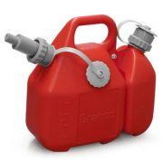 Galão de Combustível Combinado Gasolina Óleo 2 Tempos
