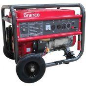 Gerador de Energia Branco B4T 8000E3 TRIF 220V  8 kva Partida Elétrica