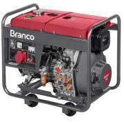 Gerador de Energia Branco BD 8000E3 380V 8 kva Trifásico