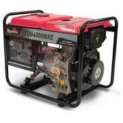 Gerador de Energia Toyama TDG4000BXE 3.3 kva Partida Elétrica