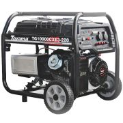 Gerador de Energia Toyama TG10000CXE3 220V 10 kva Trifásico