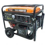 Gerador de Energia Vulcan VGE 8100 6.5 kva Monofásico Partida Elétrica