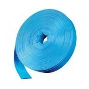 Mangueira Flexível 4 Polegadas PVC Azul 25 Metros