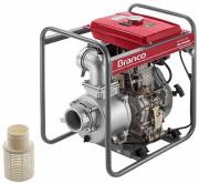 Motobomba a Diesel Branco BD 700E Auto Escorvante 4 Polegadas - Partida Elétrica