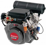 Motor Diesel Branco BD22 G2 Partida Elétrica 22hp