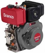 Motor Diesel Branco BD7.0 G2 Partida Elétrica 7hp