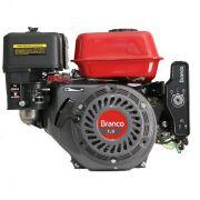 Motor Gasolina Branco B4T 7.0H Partida Elétrica 7hp