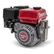 Motor Gasolina Branco B4T 8.5H 8.5hp Partida Elétrica